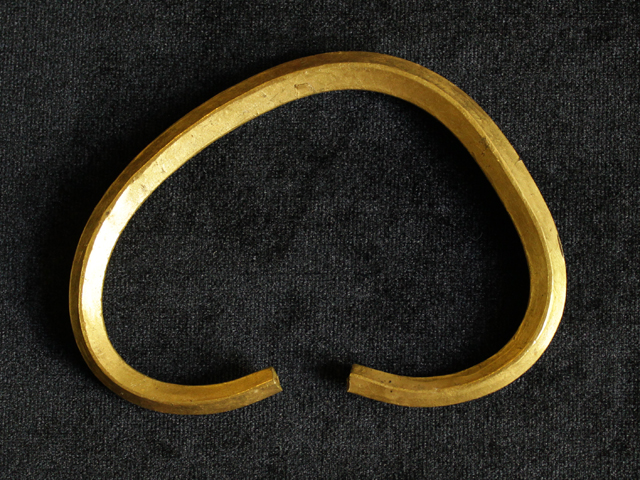 Treasure of gold jewelry consisting of 6 objects. 11th century. Gold 958*. Cast. Found in Polotsk at the territory of the Lower Castle in April 1984 (Stadium Spartak)
