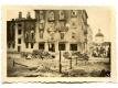 Немецкая техника на фоне полуразрушенных зданий на ул.Орджоникидзе в Полоцке. 1941-1943 гг.