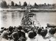 Пантонный мост на Зап.Двине. Полоцк, 1966 г.