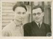 Г.Буравкин с другом Леонидом Мелеховым. Минск, 1955 г. Передана Мартыновой Е.Е.