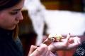 Майстар-клас «Дэкупаж велікодных яек». Музей традыцыйнага ручнога ткацтва Паазер`я. г. Полацк, 2018 г.