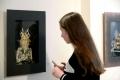 """Работа Ольги Лукьяненко """"Портрет"""". Полоцк. Художественная галерея. 2017"""