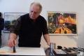Открытие выставки Феликса Гумена, Художественная галерея, Полоцк, 2017 г.