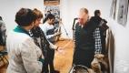 Сустрэча з археолагам А.А. Салаўёвым. Краязнаўчы музей. г. Полацк, 2018 г.